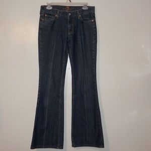 7 for All Mankind 28 x 31.5 Bootcut Jeans E490
